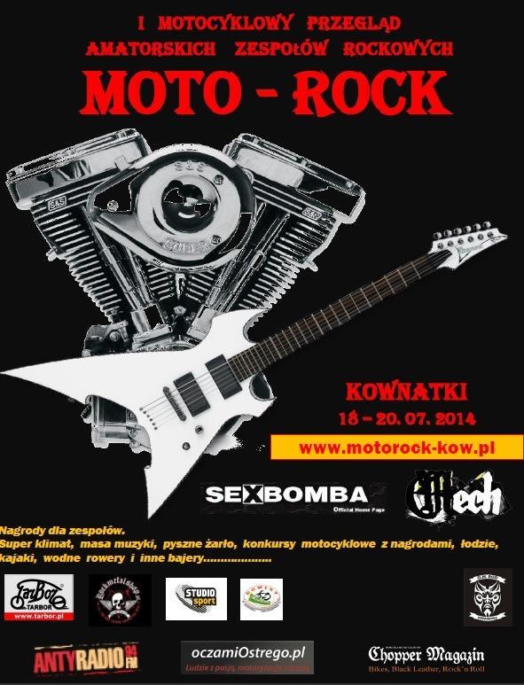 Moto Rock Kownatki Przegląd Amatorskich Zespołów Rockowych