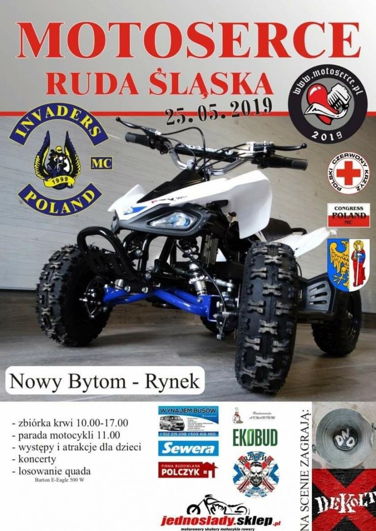 Motoserce Ruda śląska 2019 Moto Opinieinfo